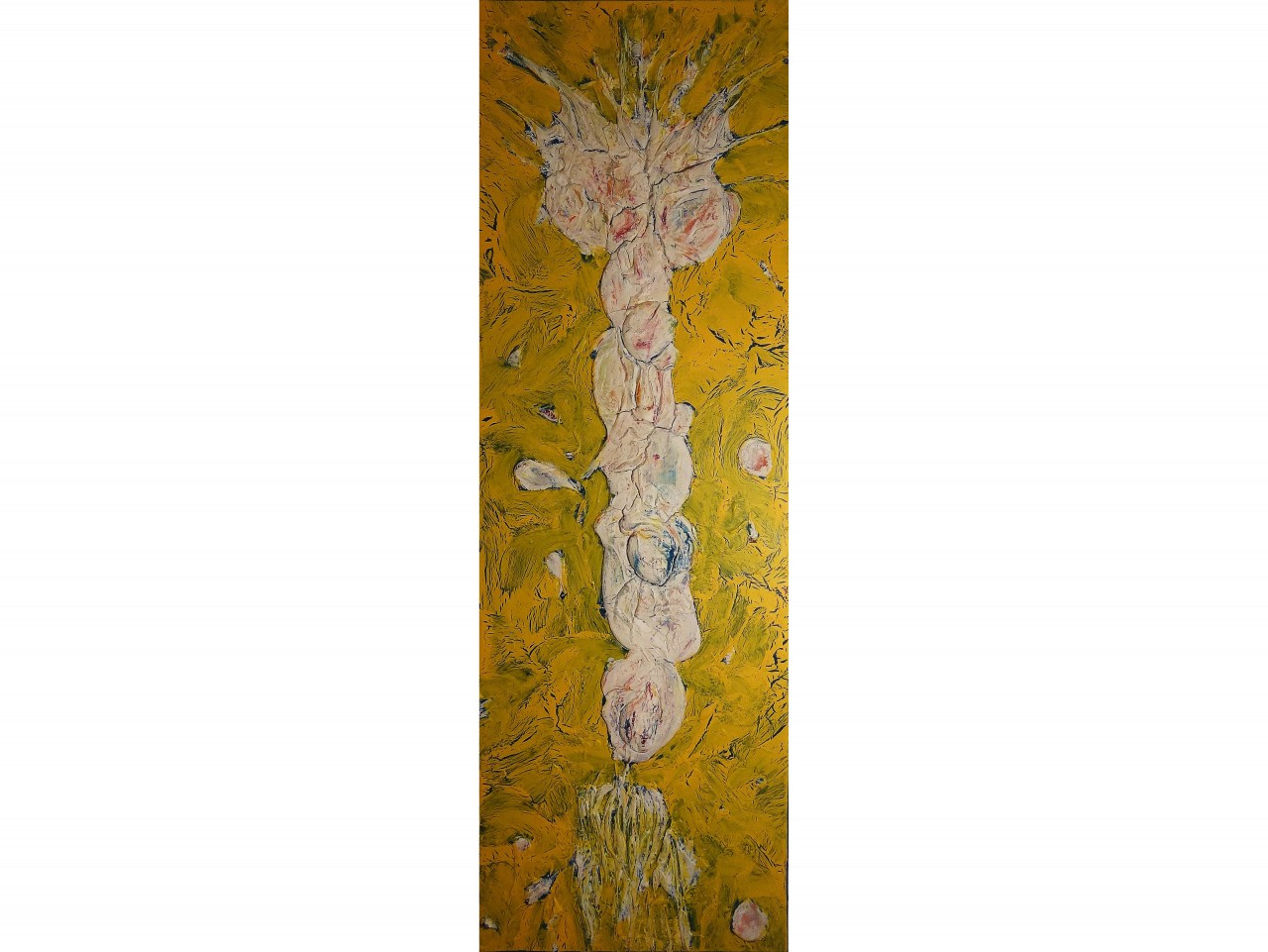 Nature Rise IItextured paint, acrylic & oil on canvas60x20in2014$975